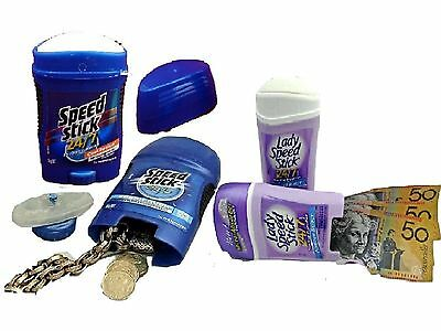 Speed Stick Secret Stash Can  Deodorant Diversion Safe Hidden Compartment Box