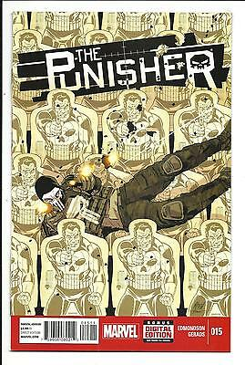 Punisher # 15 (Marvel, Apr 2015), Nm New