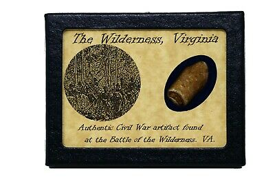 Shot Bullet From the Battle of The Wilderness, Virginia with COA