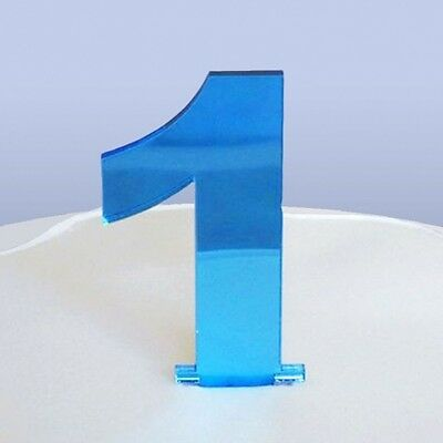 Contemporary Number 1 Cake Topper