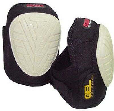 Nailers G2 Gel Kneepads With Non-Marking Grip Face - Na60220 Nonslip Durable