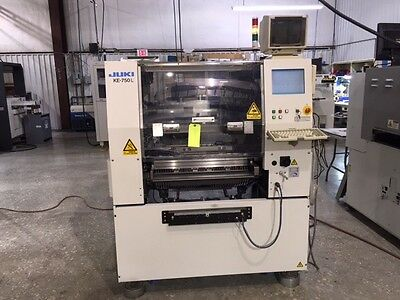 Juki KE-750L PCB Assembly Placement Machine With 20 Feeders!