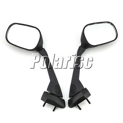Motorcycle Rearview Mirrors For Yamaha FZ1 FAZER 2007-2013 Black