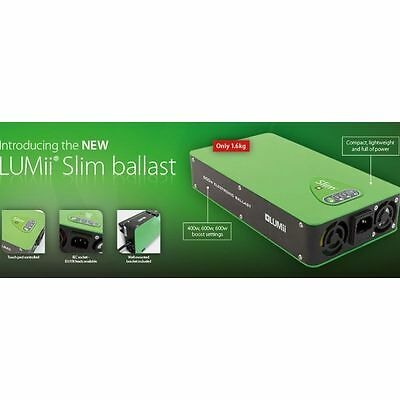 LUMii Slim 600w Electronic Digital Dimmable Ballast Grow Light Hydroponic MH HPS