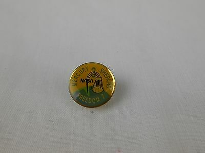 MERCURY SHEPARD 3 Vintage Pin NASA FREEDOM 7 Space Capsule