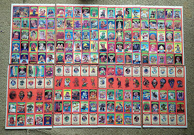 Basuritas Garbage Pail Kids POSTER Sheet Complete Set GPK