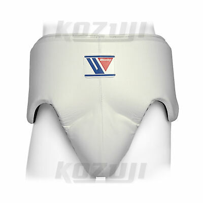 Winning Boxing Groin Protector CPS-500 White, Standard Cut, New from Japan
