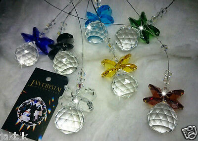Suncatcher AAAA+ Crystal and Swarovski Crystal Choose Qty Chakra Colours