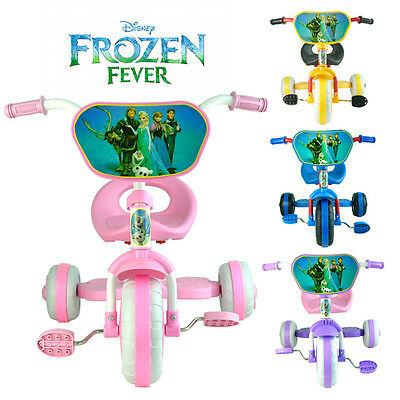 *new Design* Disney Frozen Bike Trike Tricycle Kid Child 3 Wheel Car Ride On Toy