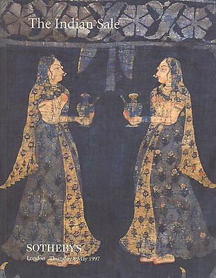 SOTHEBY'S The Indian Sale London 8 May 1997 Metalwork Jewellery Furniture LN7276