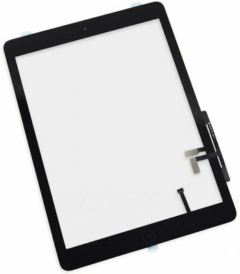 For iPad Air 1 A1474 iPad 5 Digitizer Touch Screen Glass & Home Button BLACK