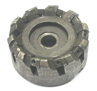 "3"" Diameter LH Carbide Indexable Insert Shell Mill face Fly Cutter Tool holder"