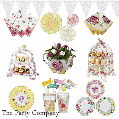 Party Plates  & Tableware Shabby Chic Vintage, AfternoonTea, Hen Party, Wedding!