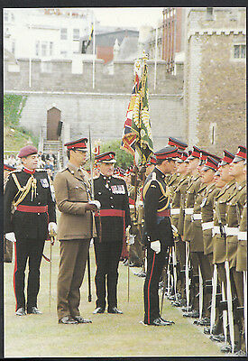 Military Postcard - The Royal Regiment of Wales, Cardiff Castle 1989  - DD526