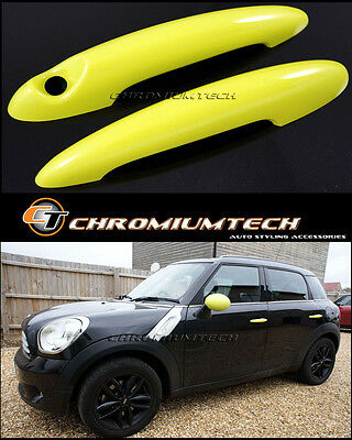 MINI Cooper/S/ONE R50 R52 R53 R55 R56 R57 R58 R59 R61 YELLOW Door Handle Covers