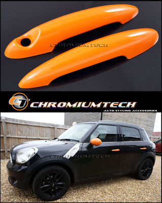 MINI Cooper/S/ONE R50 R52 R53 R55 R56 R57 R58 R59 R61 ORANGE Door Handle Covers