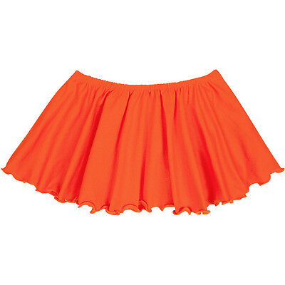 ORANGE Child / Girls Flutter Ballet - Dance Skirt