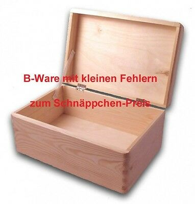 b ware gro e aufbewahrungsbox holzkiste mit deckel kiefer unbehandelt eur 6 50 picclick de. Black Bedroom Furniture Sets. Home Design Ideas