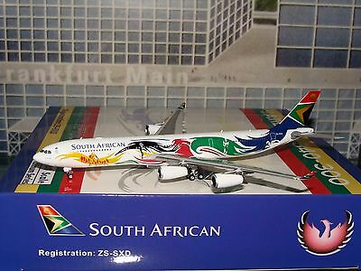 Phoenix 400 South African A340 -300 1/400 ZS-SXD **Free S&H** L A S T