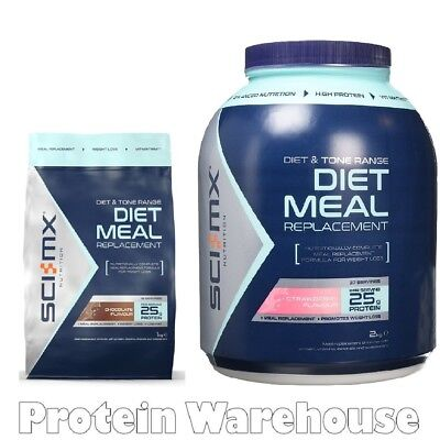Sci-Mx Nutrition 1kg Or 2kg Diet Pro Meal Replacement SciMx Lean Protein Shake