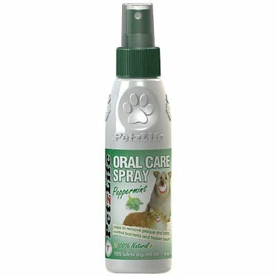 PETZLIFE Oral SPRAY Care Cat Dog Tooth Paste Puppy Dental Care for Dogs 4oz