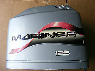 Mercury Mariner 125 HP Engine Cover Top Cowling 822362-1 Outboard