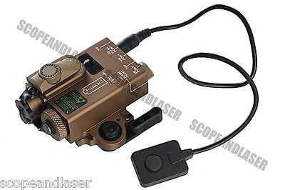 G&P Compact Dual Laser Designator GP-LSP007 Black / Sand for Airsoft (Toy Only)