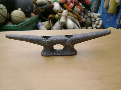 "6"" Old Galvanized Ship Boat Dock Cleat Chock Decor"