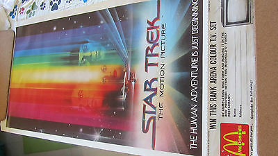 Star Trek Posters - 6 x highly collectable vintage pieces
