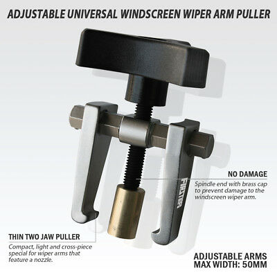 FIT TOOLS   Adjustable Light Windscreen Wiper Arm Removal / Remover / Puller