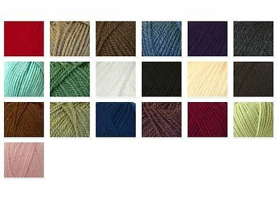Cygnet Aran Soft Cheap Knitting Wool Yarn 100g