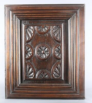 Antique Carved Architectural Salvaged French Brittany panel