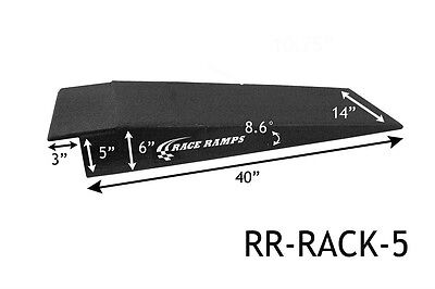 """NEW Race Ramps RR-RACK-5 5"""" Ramps Lowered Cars"""