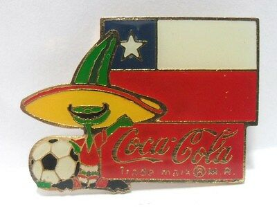 "Coca-Cola - PINS a SPILLA da ATLANTA 1984 ""CHILE"""