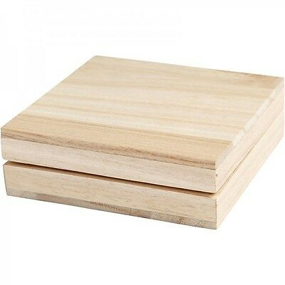Square Wooden Storage Boxes Small Square Wooden Box