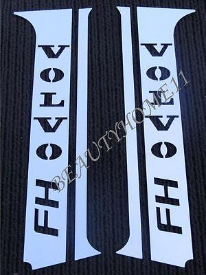 4 pcs. Door Pillars for VOLVO FH4 Series Made Of Polished Stainless Steel