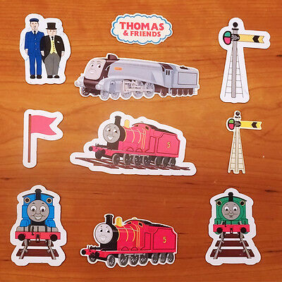Thomas & Friends  Thomas The Tank Engine Set Of 10 Assorted Flat Magnets