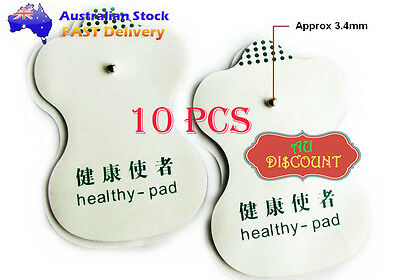 10X Replacement Electrode Pads Tens Acupuncture Digital Therapy Machine Massager