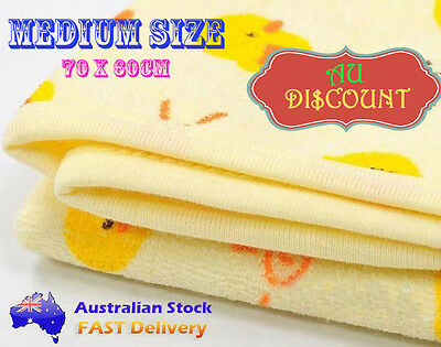 Medium Waterproof Cotton Toddler Baby Nappy Change Bed Cots  Mats Infant Cover
