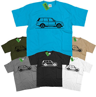 Original Sketch Range Rover L322 British 4×4 T Shirt