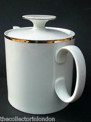 Thomas Medallion 4mm Wide Gold Band 799 1.5pt Tea Pot & Lid 14cmh Looks in VGC