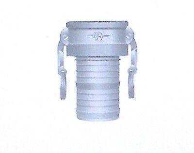 """PT 2"""" Aluminum Part C Cam-Lock Fitting w/Stainless Steel Cam Arms - Cam & Groove"""