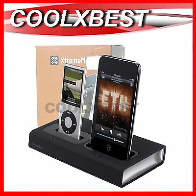 XtremeMAC INCHARGE DUO  iPOD iPHONE DUAL CHARGING DOCK QUICK CHARGER 30 PIN