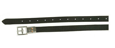 NEW Sterling Stirrup Leathers 120cm Black horse pony Strong