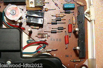 Elna TX Electronic Sewing Machine PCB Repair Kit.