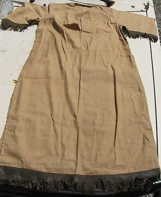 Antique Vintage Home Made Camp Fire Girls Ceremonial Outfit