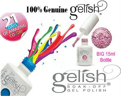 Gelish - Harmony Gelish® Soak Off Gel Nail Polish UV LED●15ml●100% Genuine USA
