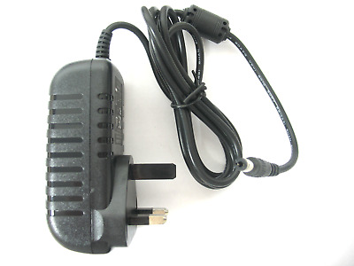 Ac/dc Mains Uk Power Adaptor/supply/charger/psu 1500Ma/1.5 Amp 24 Volt Regulated