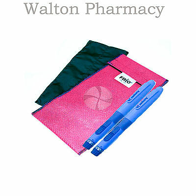 Insulin keep cool  reusable travel wallet activate with water  RED DUO FRIO