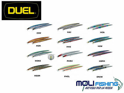 Artificiale Minnow Pesca Spinning Duel Hardcore Minnow 130F - Floating - Spigola